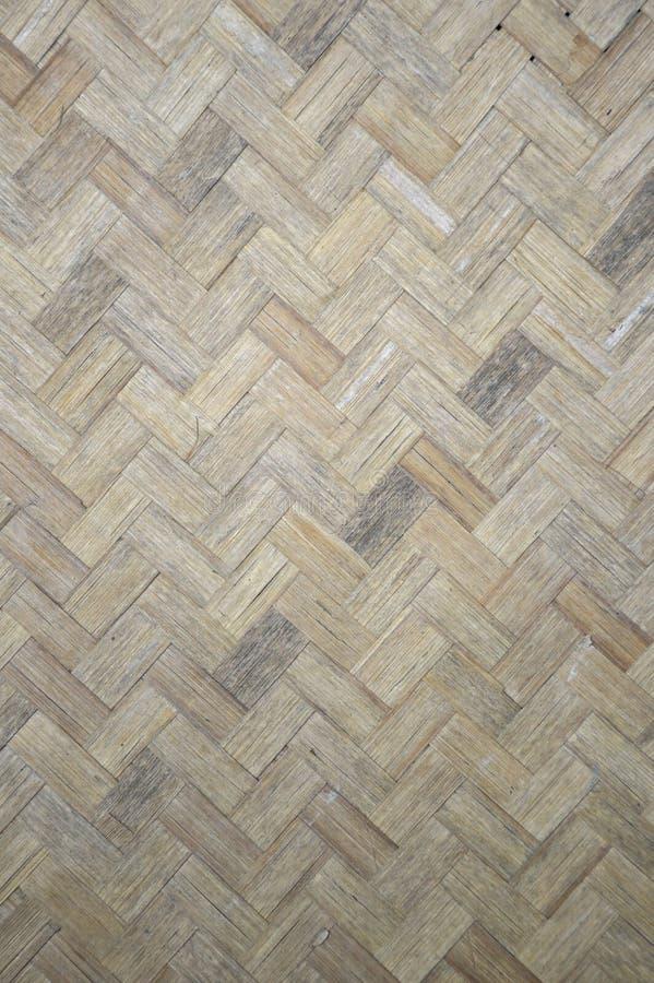 Teste padrão de bambu tecido fotos de stock royalty free