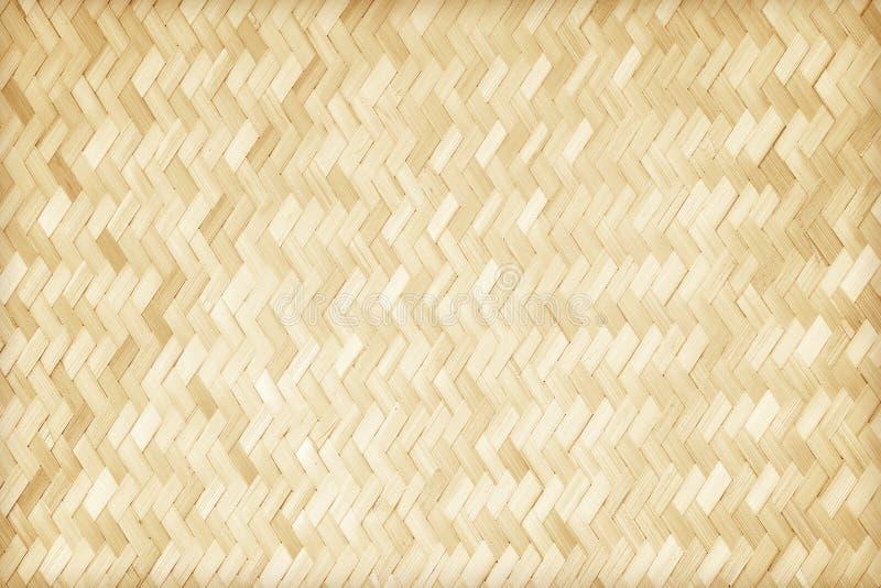 Teste padrão de bambu tecido foto de stock
