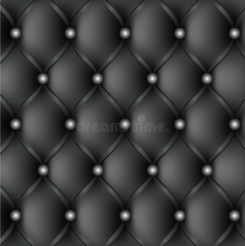 Teste padrão de couro de upholstery ilustração do vetor
