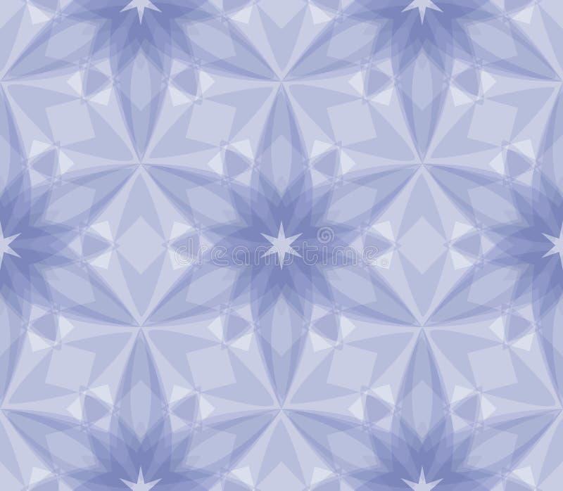 Teste padrão de cristal ilustração stock