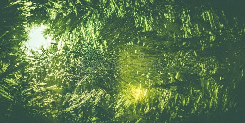Teste padrão de cristal fotografia de stock royalty free