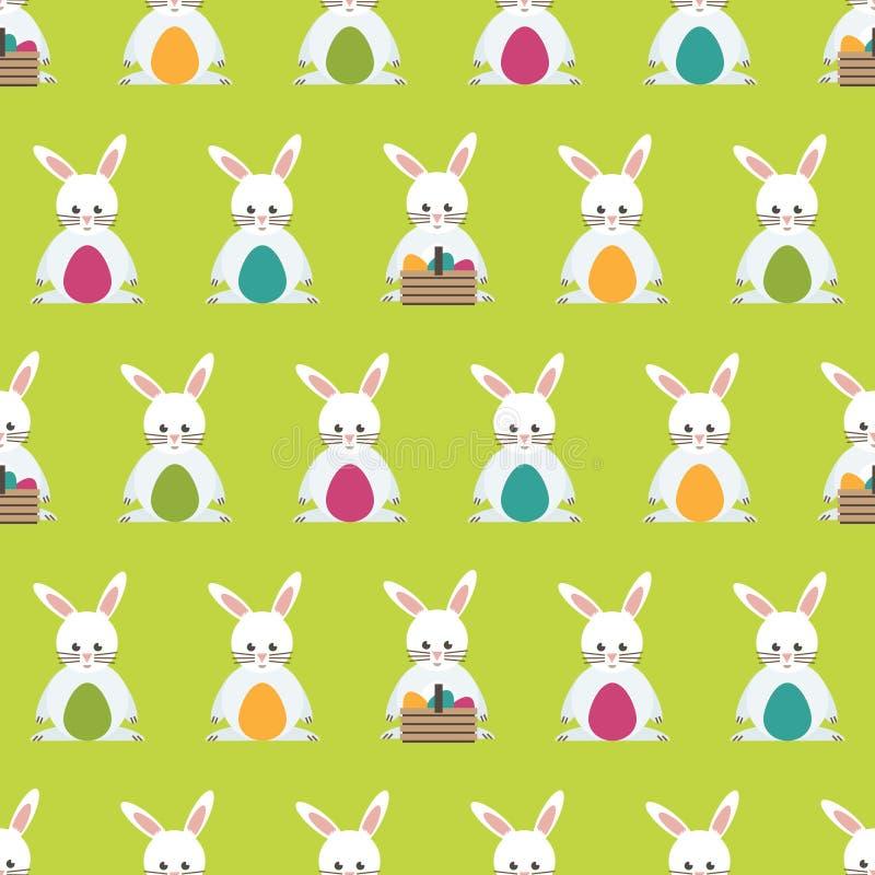 Teste padrão de Easter ilustração royalty free