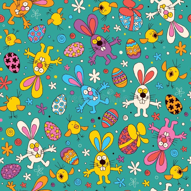 Teste padrão de Easter ilustração do vetor