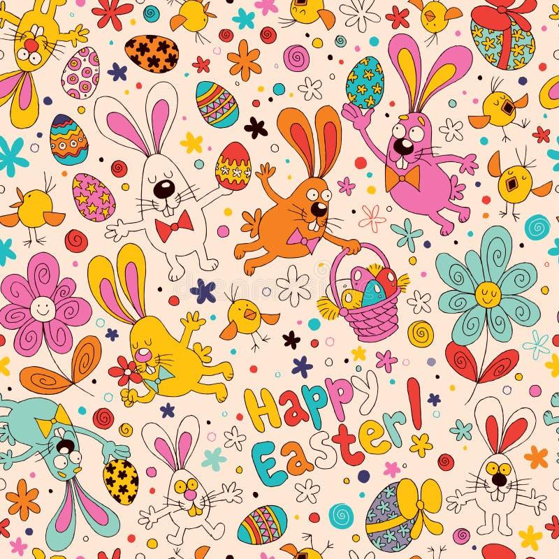 Teste padrão de Easter ilustração stock