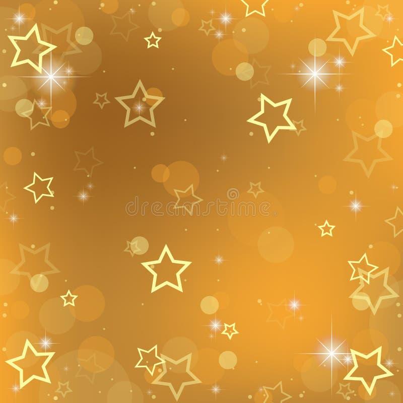 Teste padrão de estrelas ilustração stock