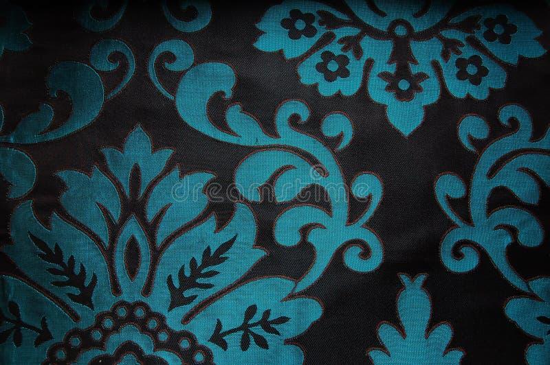 Teste padrão de flor antigo imagens de stock