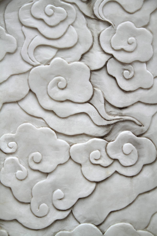 Teste padrão de flor asiático do estilo imagens de stock