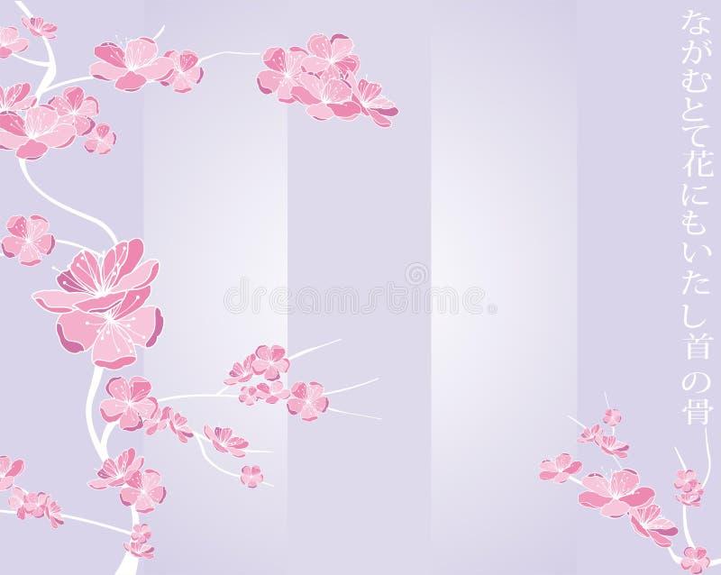 Teste padrão de flor da mola ilustração do vetor