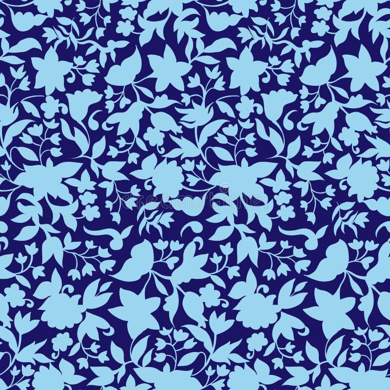 Teste padrão de flores pequeno 017 imagem de stock