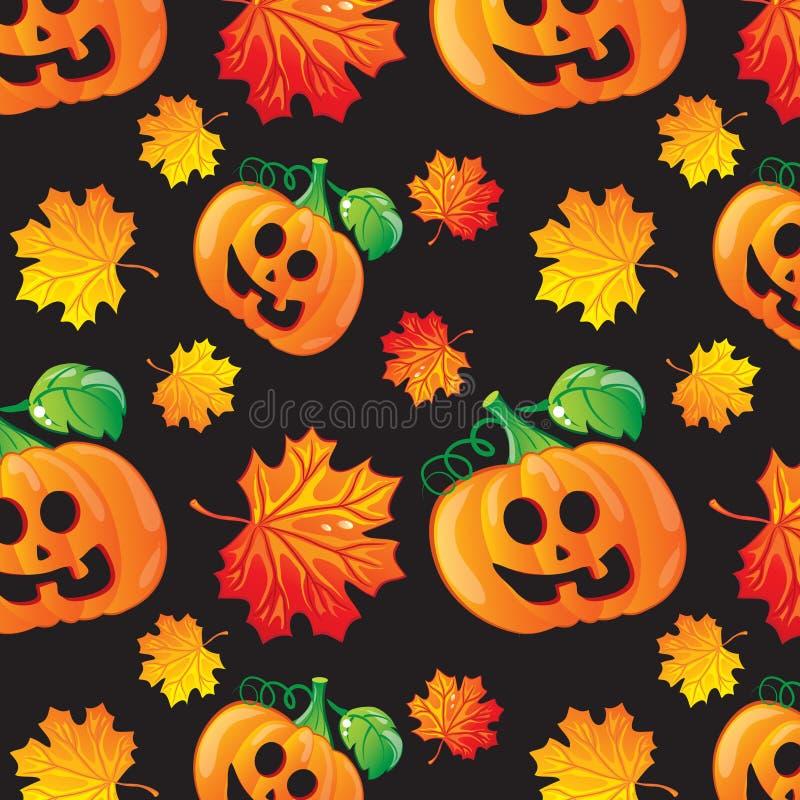 Teste padrão de Halloween ilustração do vetor