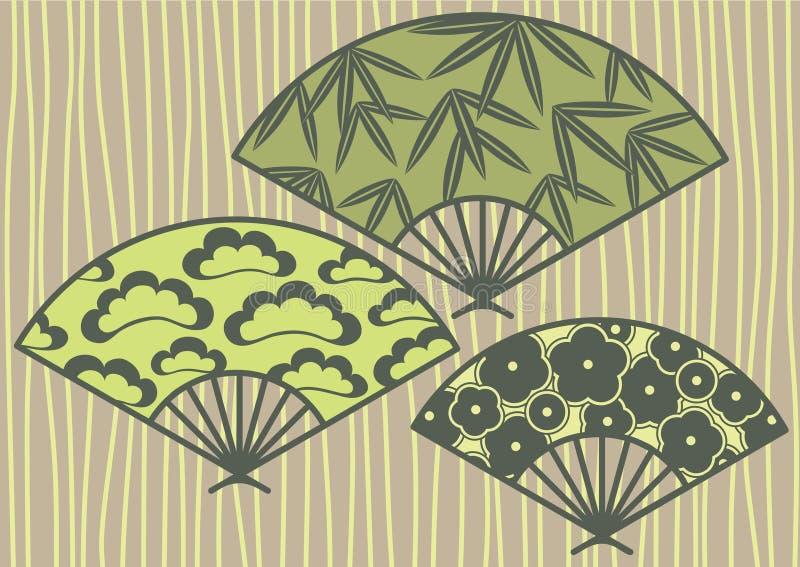 Teste padrão de Japão ilustração stock