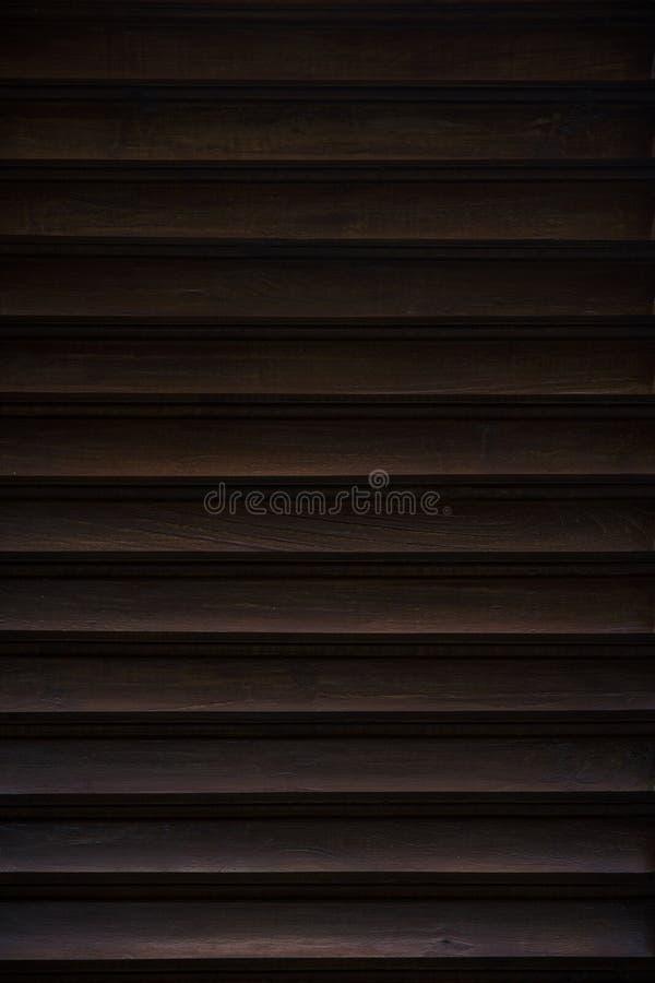 Teste padrão de madeira abstrato da textura com linhas principais fotografia de stock royalty free
