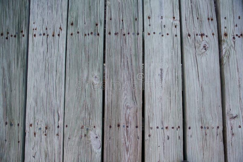 Teste padrão de madeira cinzento envelhecido das pranchas imagem de stock royalty free