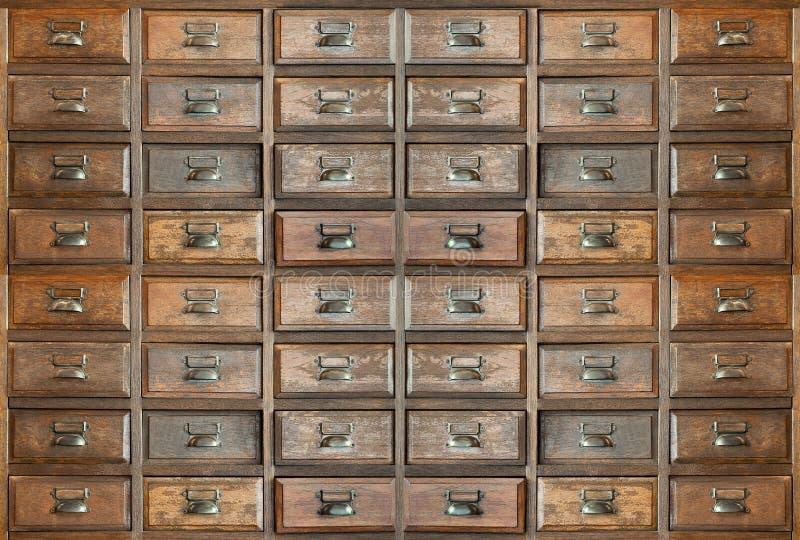 Teste padrão de madeira da gaveta imagem de stock