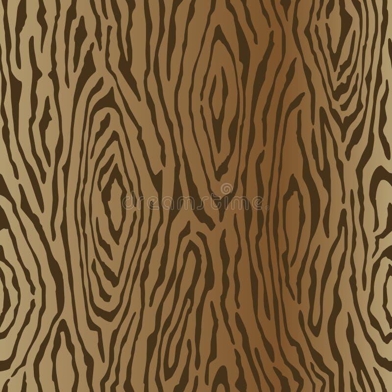Teste padrão de madeira da grão ilustração royalty free