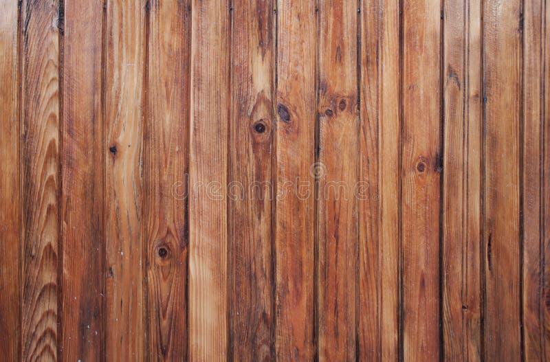 Teste padrão de madeira da parede das pranchas fotos de stock