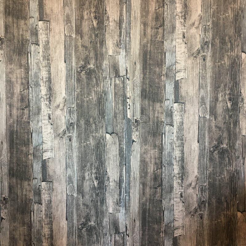 Teste padrão de madeira do sumário do papel de parede da textura do fundo imagens de stock