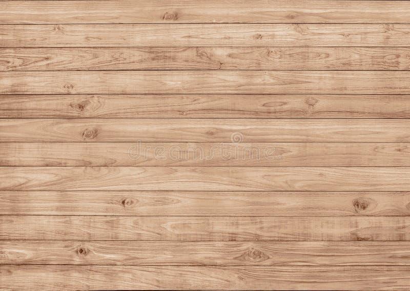 Teste padrão de madeira sem emenda, textura da superfície do decking do passeio à beira mar imagem de stock royalty free