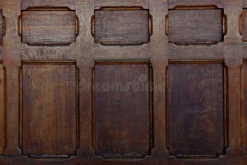 Teste padrão de madeira velho da textura, fundo imagens de stock