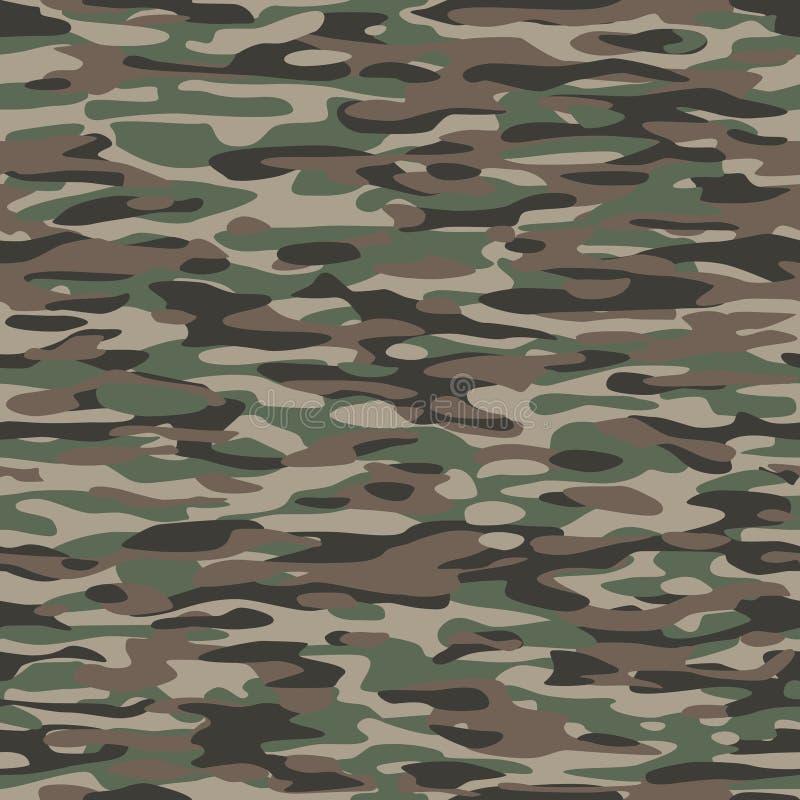 Teste padrão de matéria têxtil da camuflagem ilustração royalty free