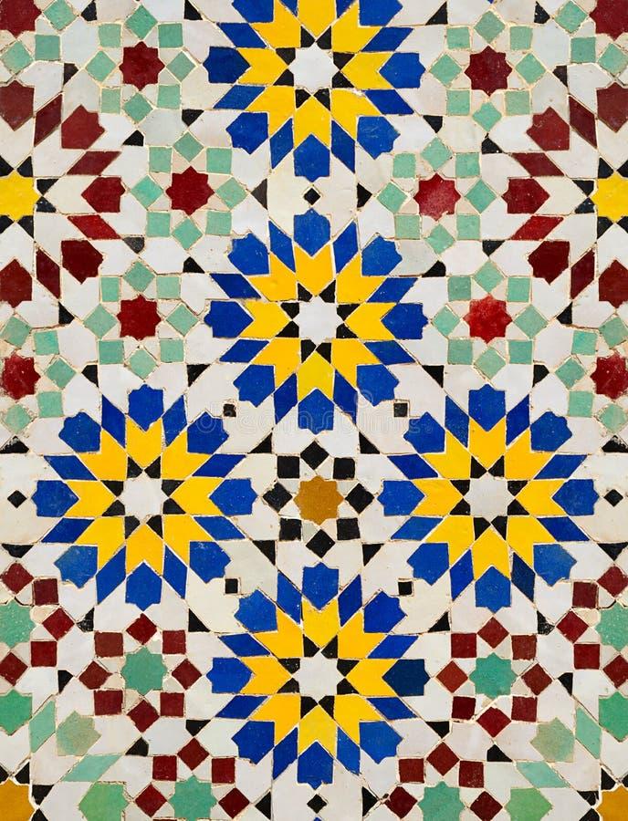 Teste padrão de mosaico imagens de stock royalty free