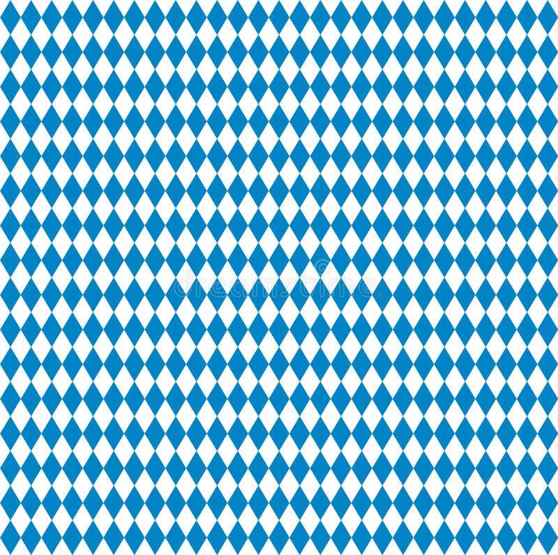 Teste padrão de Oktoberfest ilustração do vetor