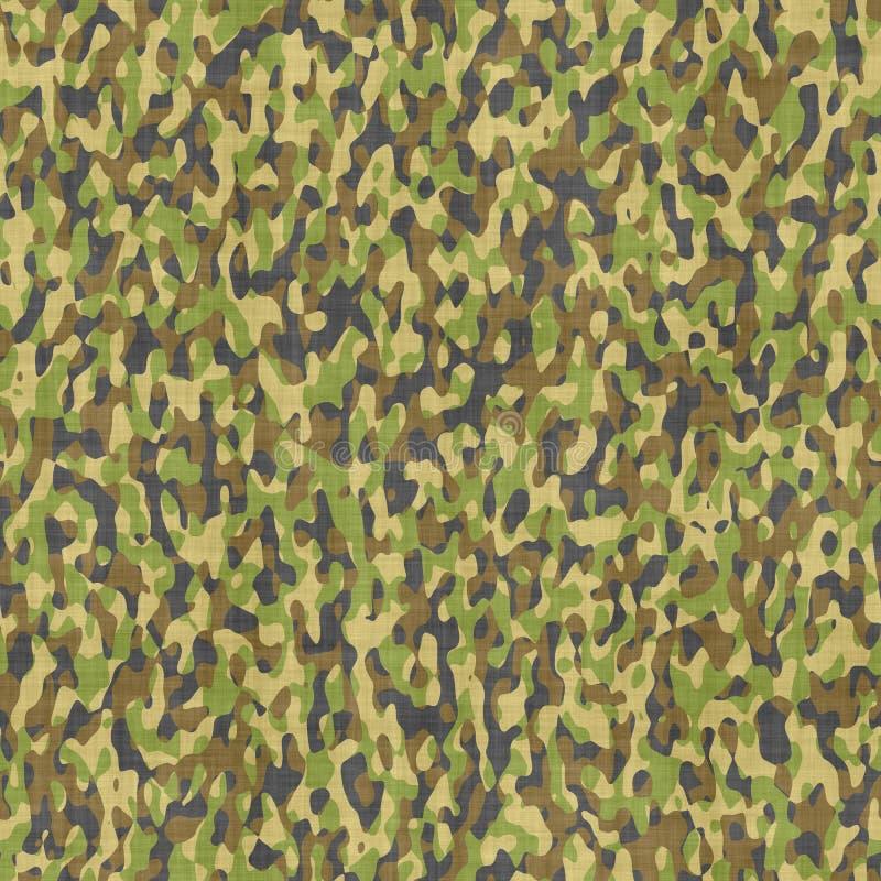 Teste padrão de pano camuflar ilustração royalty free