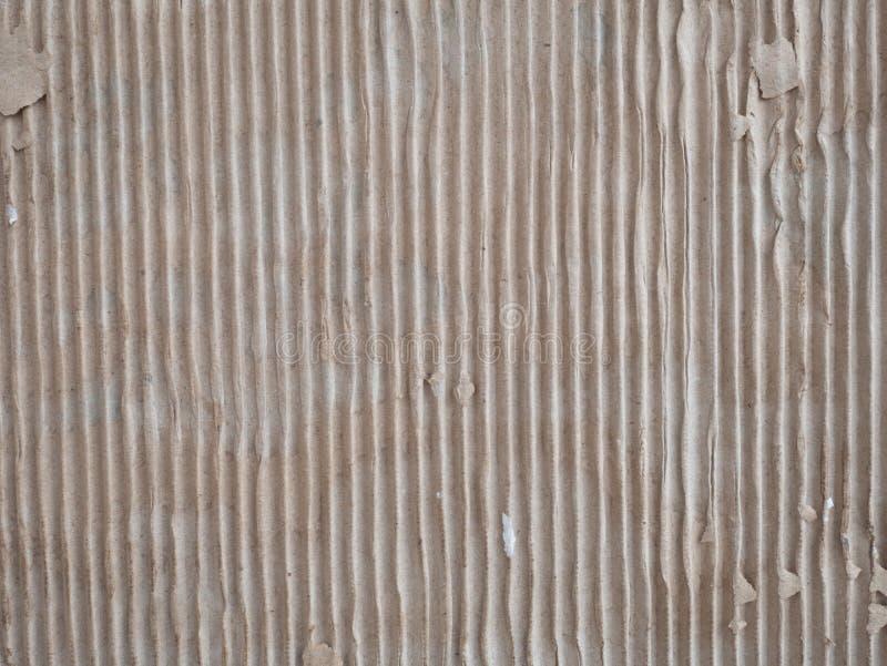 teste padrão de papel ondulado para o fundo e o projeto fotografia de stock