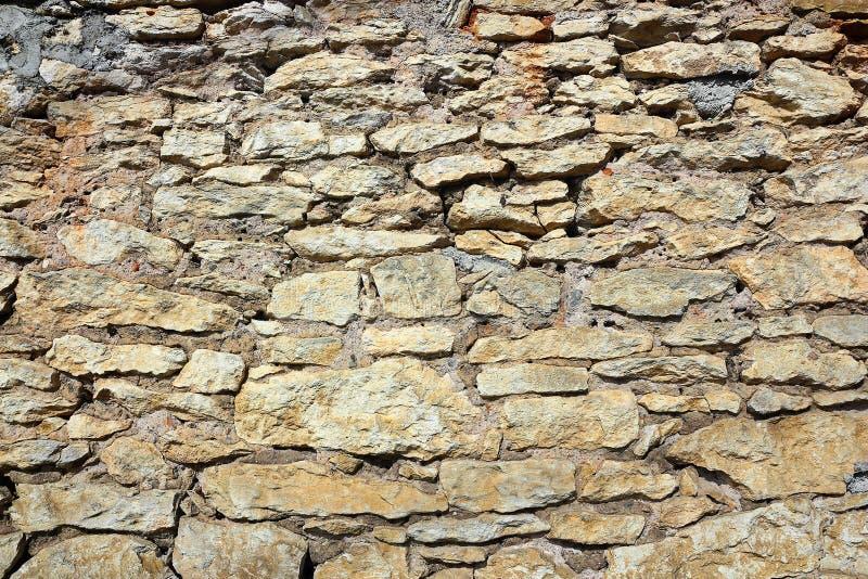 Teste padrão de pedra da parede de tijolo imagem de stock royalty free