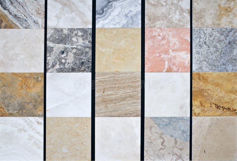 Teste padrão de pedra natural colorido imagem de stock