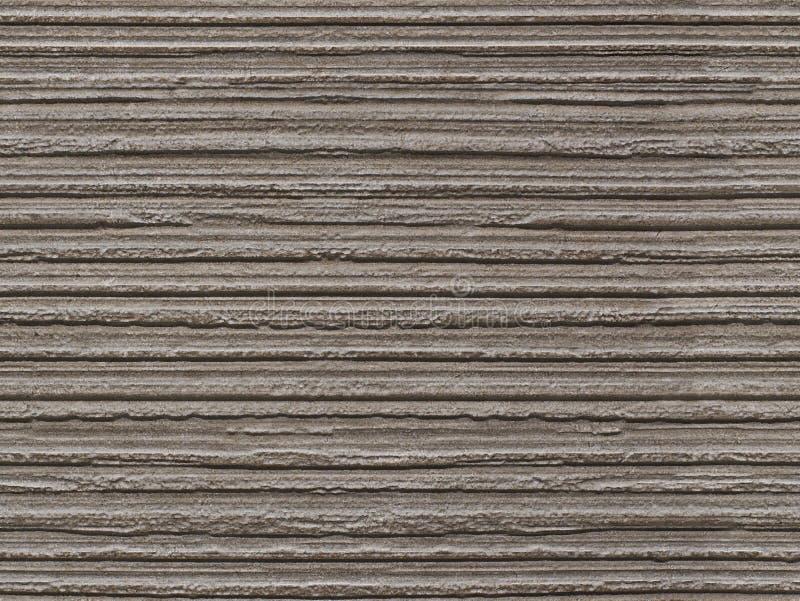 Teste padrão de pedra sem emenda flocoso cinzento do fundo da textura A superfície sem emenda de pedra da textura com linhas hori foto de stock