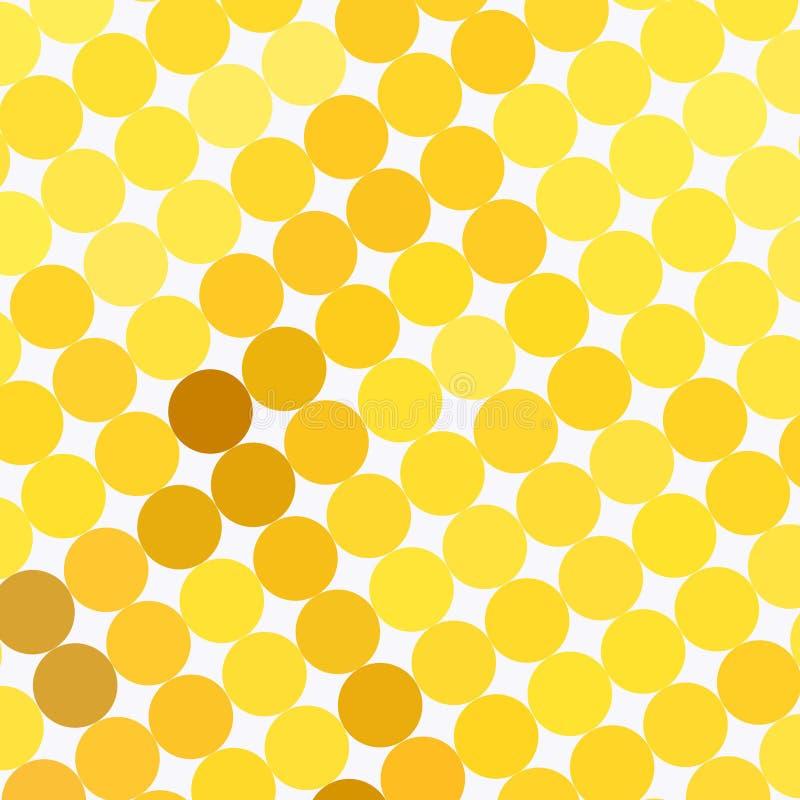 Teste Padrão De Ponto Amarelo Fotos de Stock Royalty Free