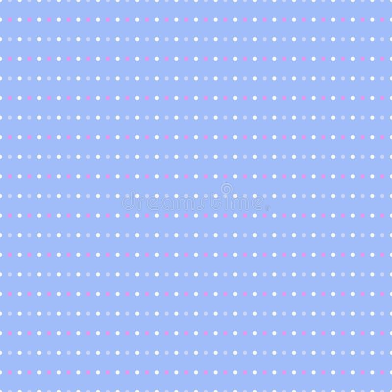 Teste padrão de ponto sem emenda da polca ilustração royalty free