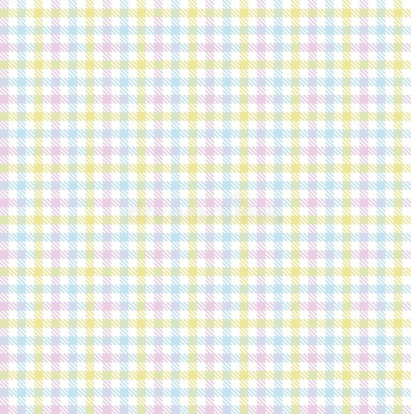 Teste padrão de repetição sem emenda da primavera da Páscoa ilustração stock