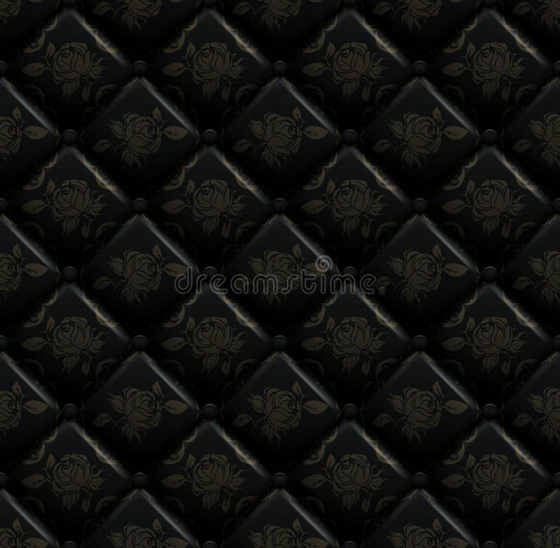 Teste padrão de Upholstery ilustração royalty free