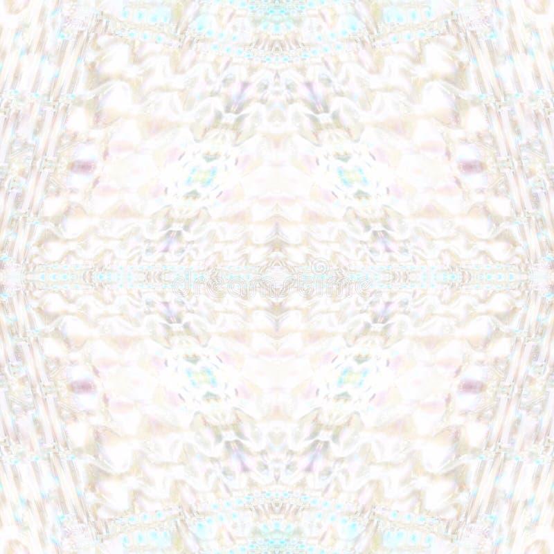 Teste padrão de vidro iridescente ilustração stock