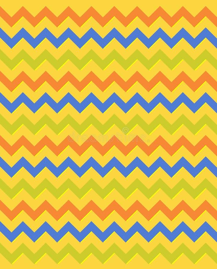 Teste padrão de ziguezague egípcio imagem de stock