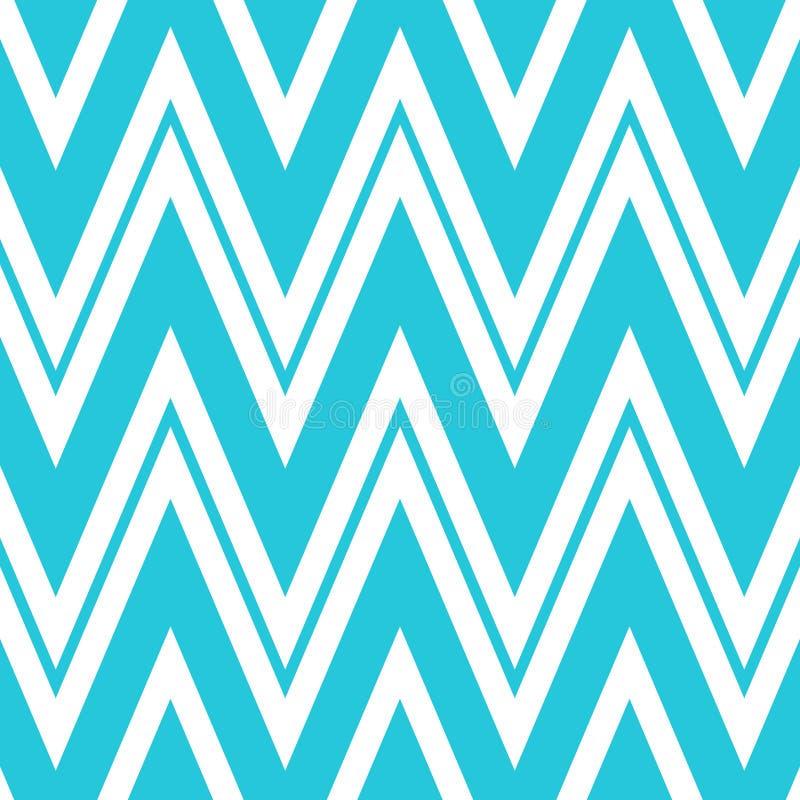 Teste padrão de ziguezague sem emenda geométrico Projeto repetido do sumário do cartão do fundo, do contexto ou do convite Teste  ilustração royalty free