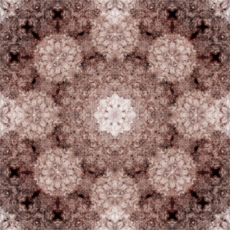 Teste padrão decorativo, linhas entrelaçadas, a combinação de fragmentos das imagens foto de stock royalty free