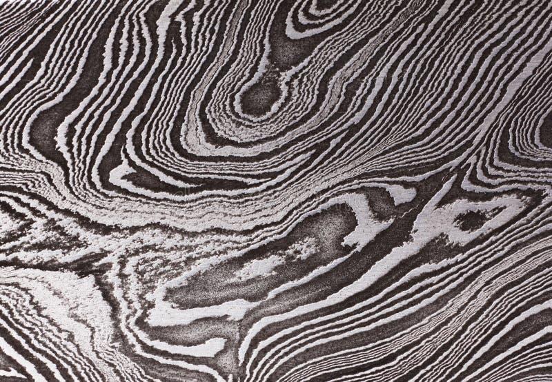Teste padrão do aço do damasco fotos de stock