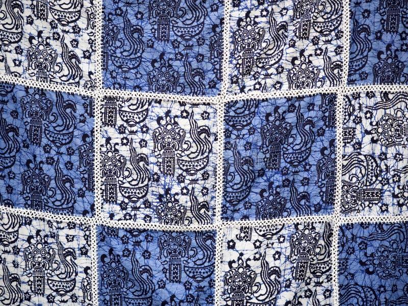 Teste padrão do batik de Bali imagem de stock royalty free