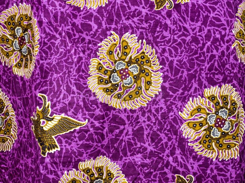 Teste padrão do batik de Bali imagens de stock