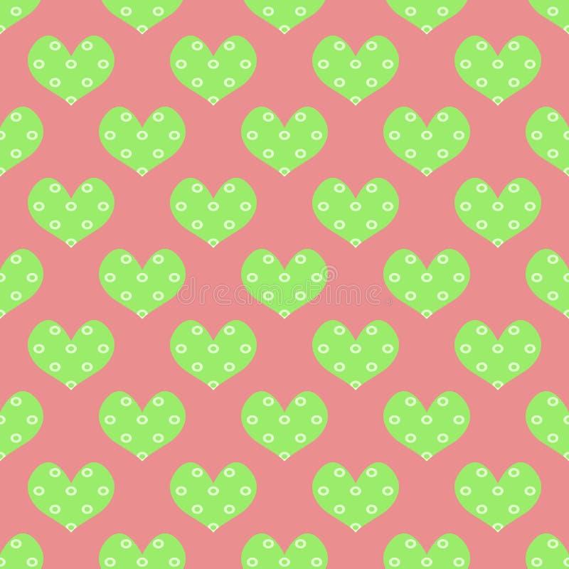 Teste padrão do coração foto de stock