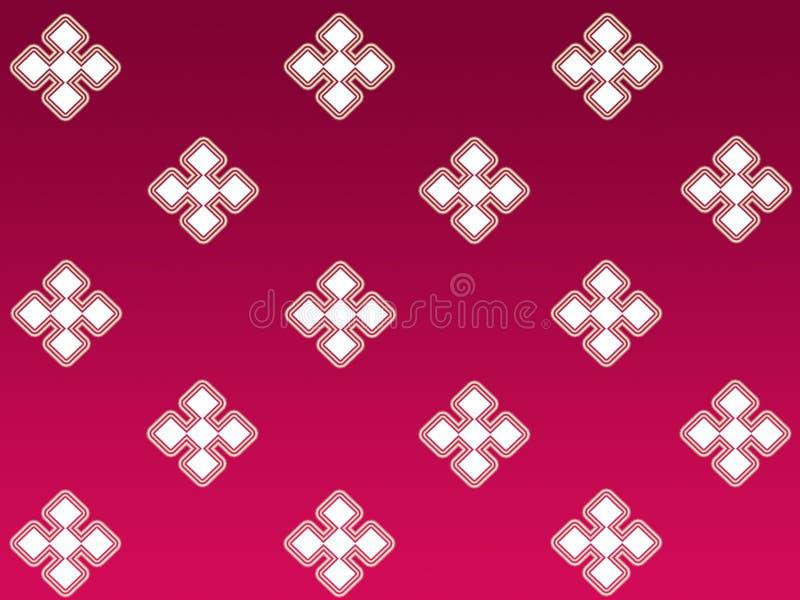 Teste padrão do diamante ilustração do vetor