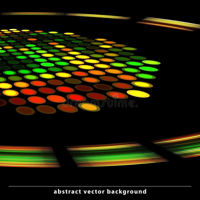 Teste padrão do disco ilustração stock