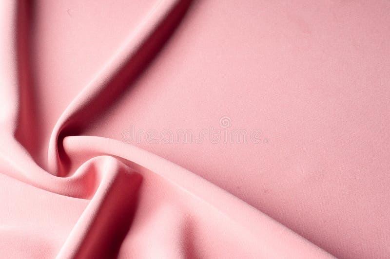 Teste padrão do fundo da textura Tela de seda cor-de-rosa Vintage sem franceses ilustração do vetor