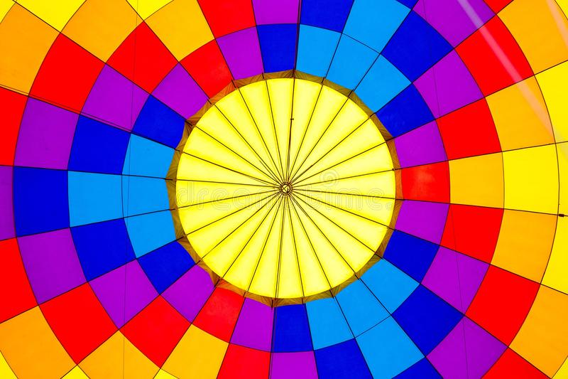 Teste padrão do fundo do balão de ar quente imagens de stock royalty free