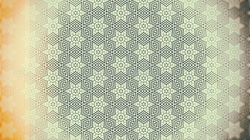 Teste padrão do fundo do vintage ilustração do vetor