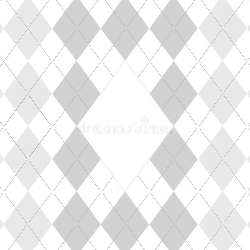 Teste padrão do golfe ilustração do vetor