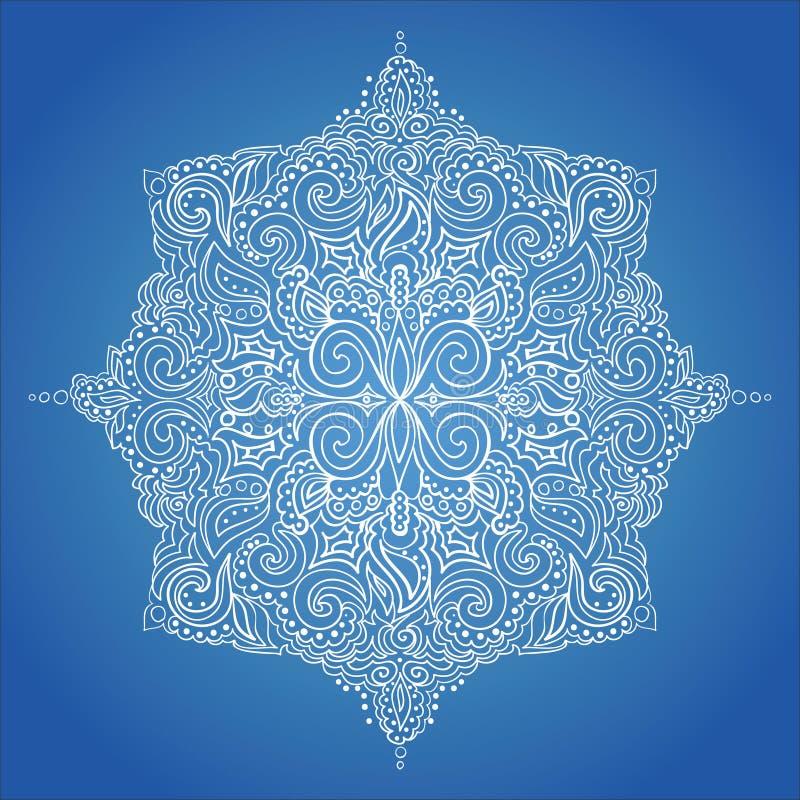 Download Teste padrão do laço ilustração do vetor. Ilustração de floral - 26518489